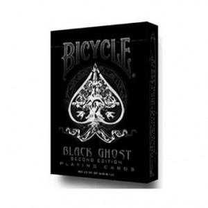 Bicycle - Mazzo Ghost Black