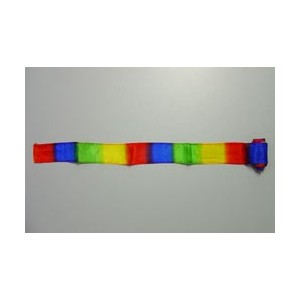 Silk Streamer multicolore cm 2,5 x 90 - per falso pollice